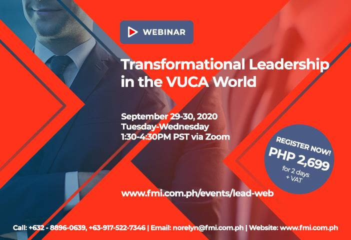 Transformational Leadership in the VUCA World