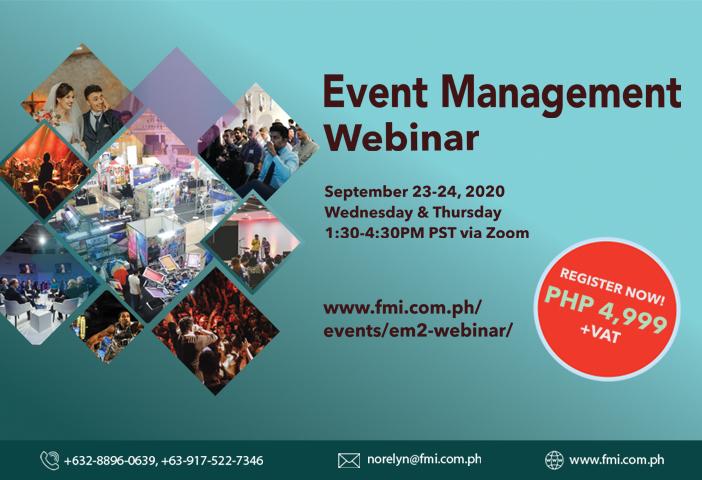 Event Management Webinar