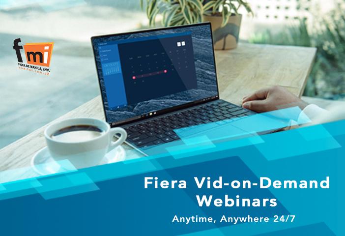 Fiera Vid-on-Demand Webinars