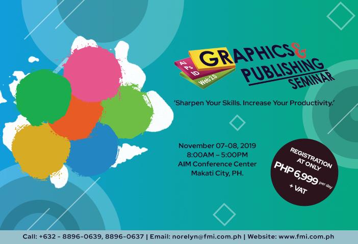 The Graphics & Publishing Seminar 2019