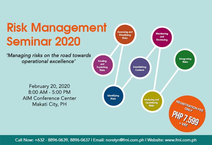 Risk Management Seminar 2020