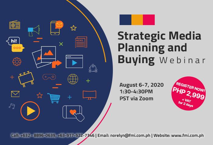 Strategic Media Planning and Buying Webinar