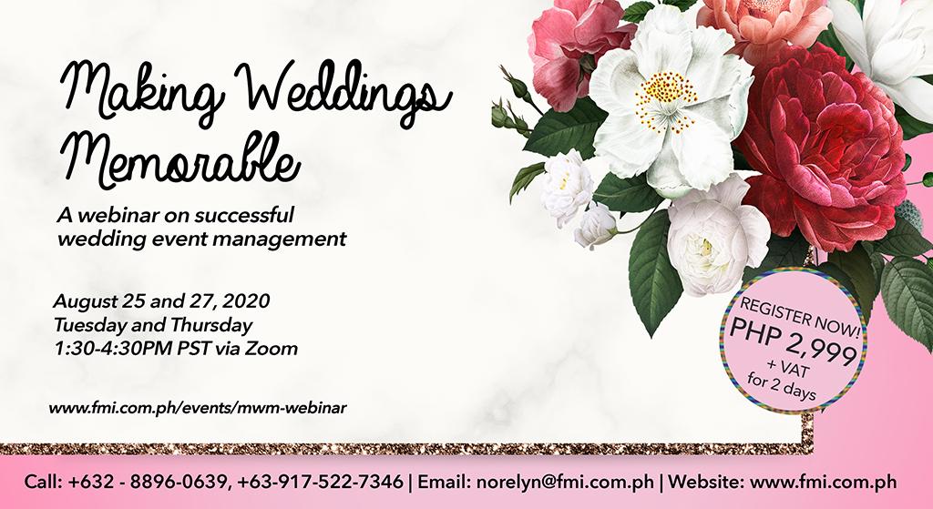 Making Weddings Memorable