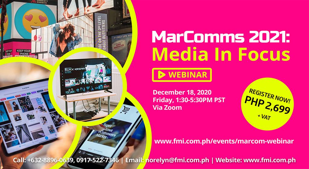 MarComms 2021: Media In Focus
