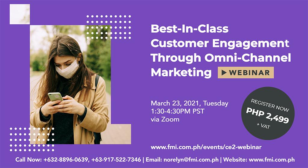 Best-In-Class Customer Engagement Through Omni-Channel Marketing Webinar